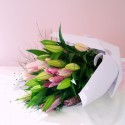 Bouquet - Pink Lilies Only
