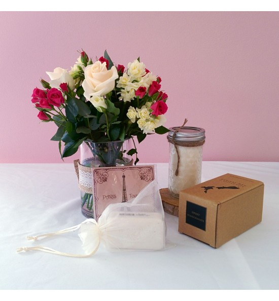 Posie, France Sache and Candle Pack