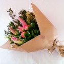 Bouquet - Peony plus Pink Lilies