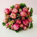 Bouquet - Double Tulip with snowberries