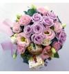Easter Floral Arrangement - Purple, Pink, Blue