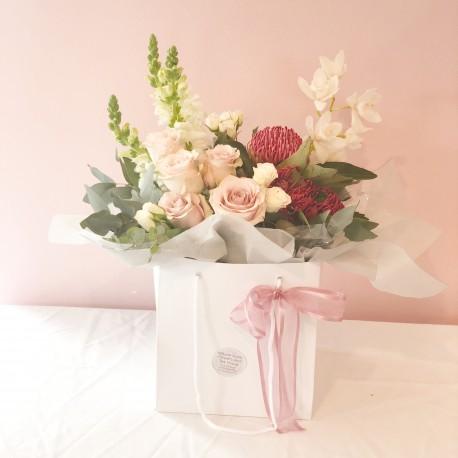 Bouquet in Bag