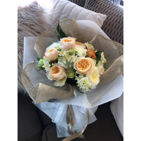 Austin Rose Bouquet