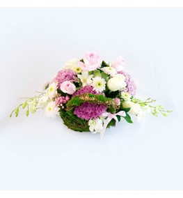 Floral Purse - Shades of Pink